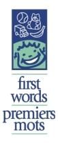 First Words logo